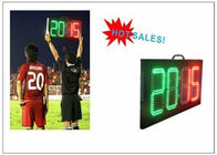Digital Number 2 Color LED Soccer Substitution Board 2 Side IP62 Light Weight